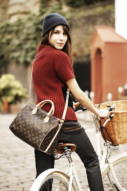 Caroline Sieber for Louis Vuitton Speedy Bandoulière