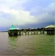 Pantai Ria Kenjeran di Surabaya