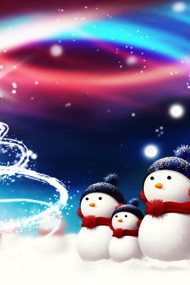 gallery for christmas wallpaper for iphone 4s