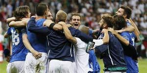 Hasil Italia Vs Jerman Skor 2-1 Euro 2012 Gol Balotelli
