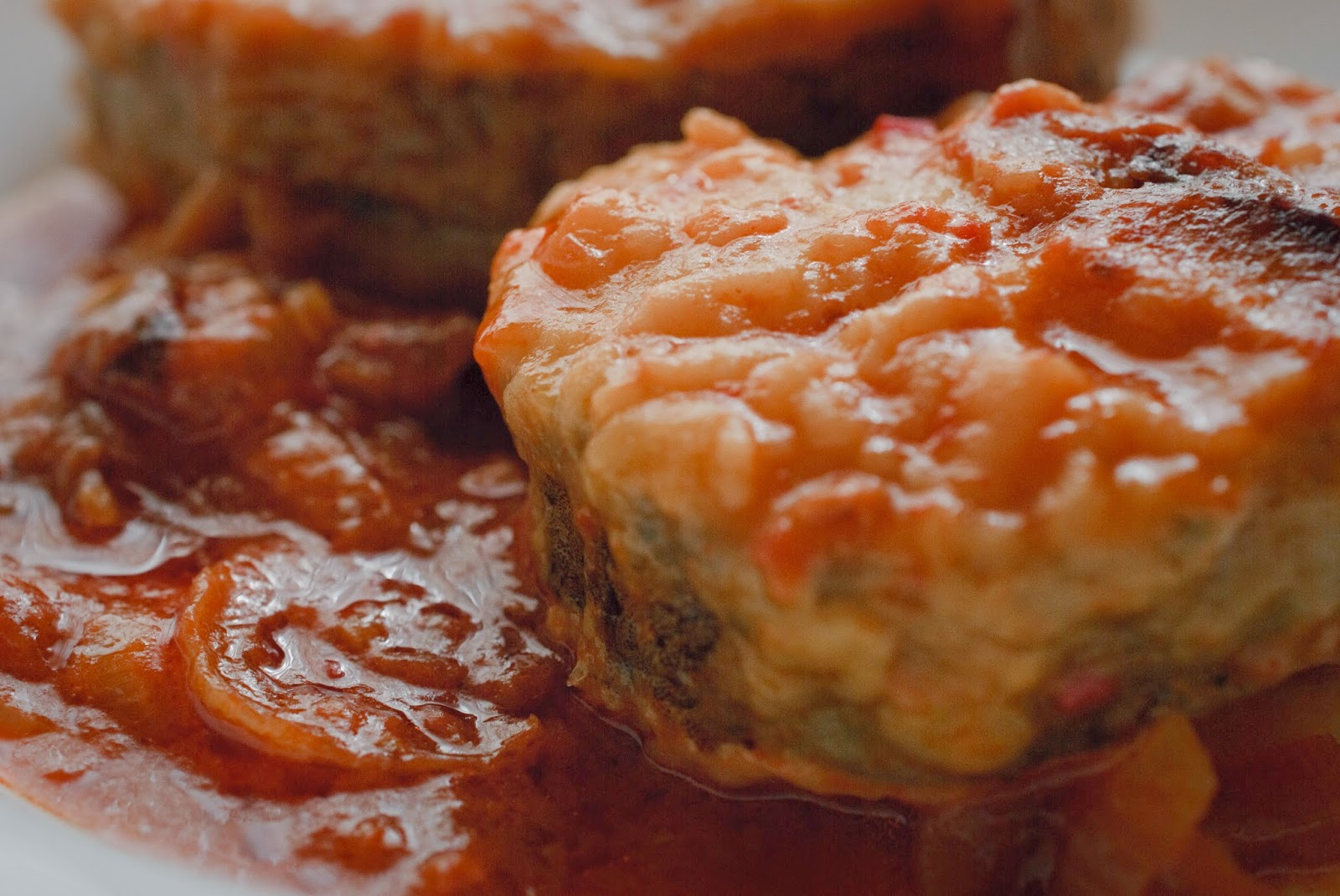 Merluza en salsa; Hake in sauce