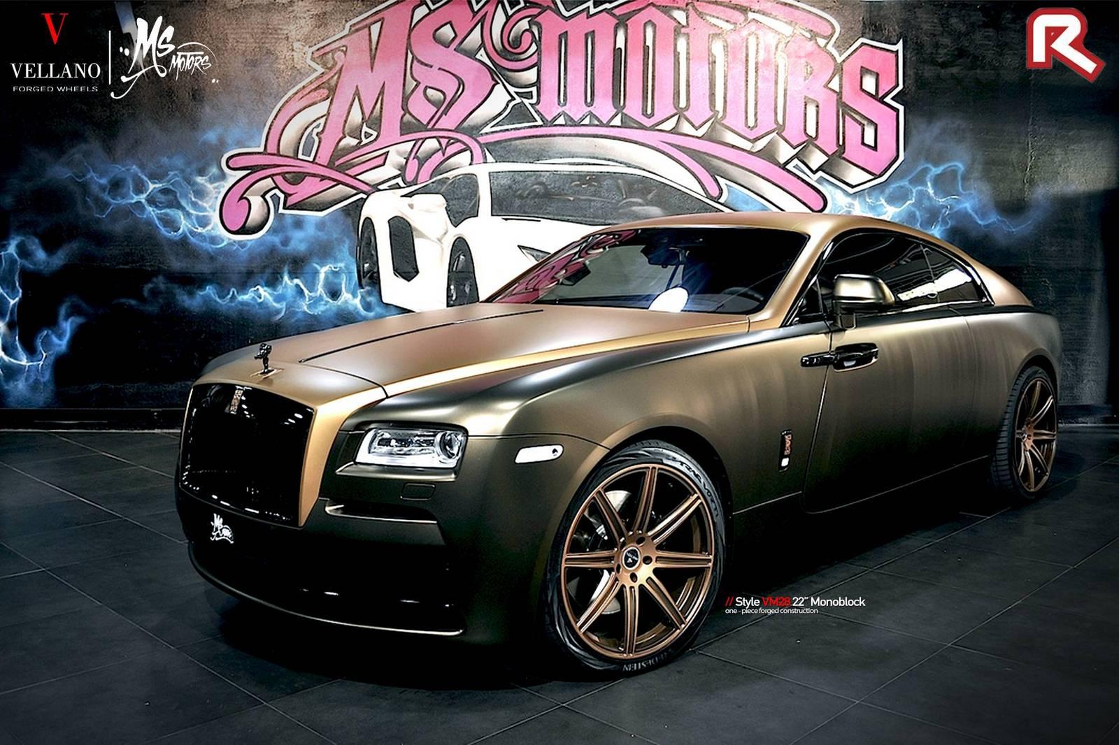 Choco Gold Rolls-Royce Wraith