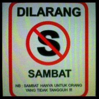 Dilarang Sambat