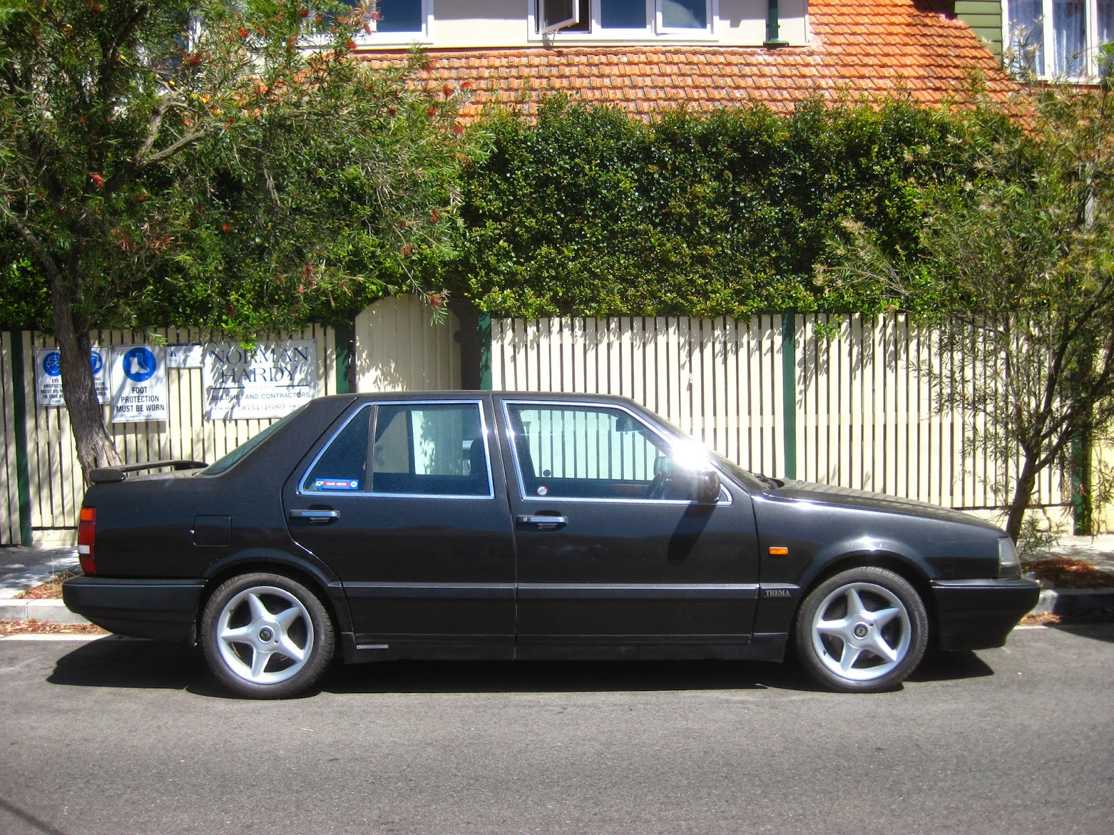 Aussie Old Parked Cars 1991 Lancia Thema Turbo 2 0 16v