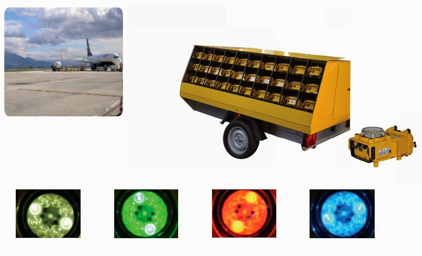 Комплект портативной системы освещения аэродромов ARMADILLO