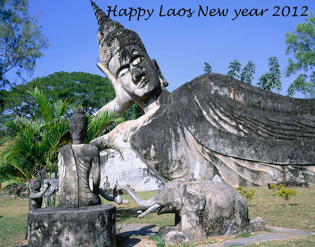 Pi Mai laos new year wall papers
