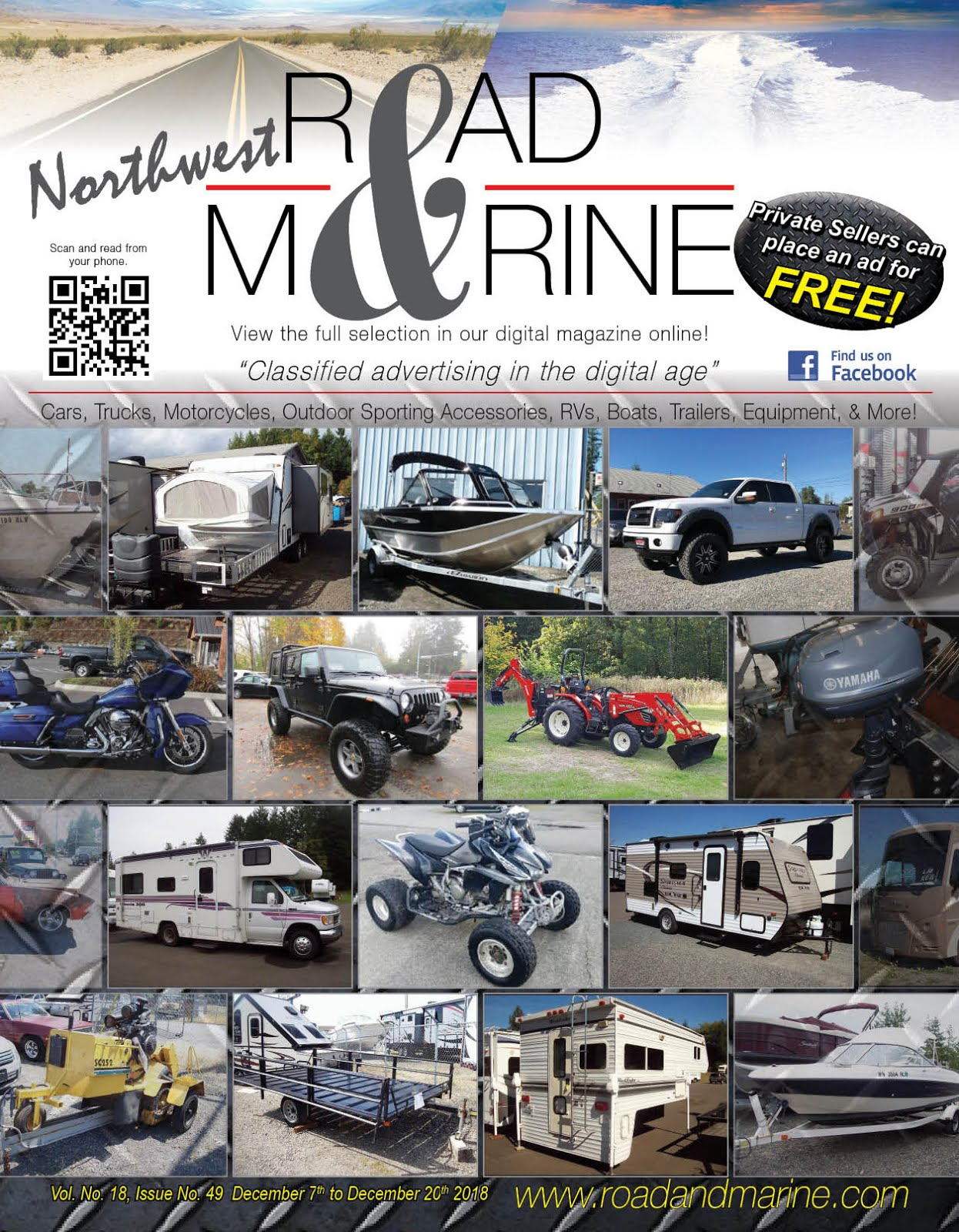 Lew's Guy Stuff© Says Check Out Northwest Road & Marine Glossy & Digital Magazine!