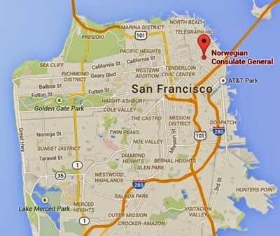 San Francisco Norveç Konsolosluğu