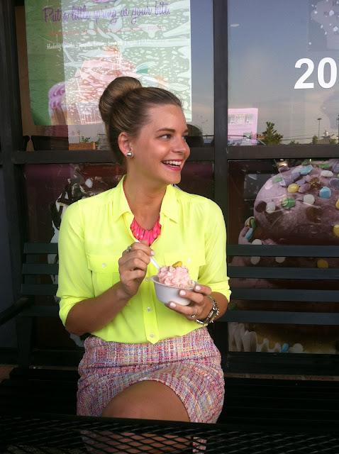 Strawberry Lemonade Cupcake via Darling Cashmere