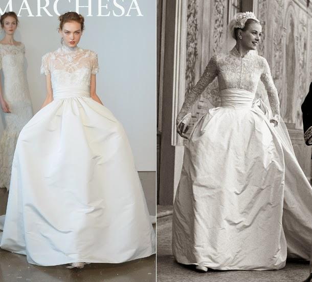 maría cielo: el vestido de boda de grace kelly inspira la nueva