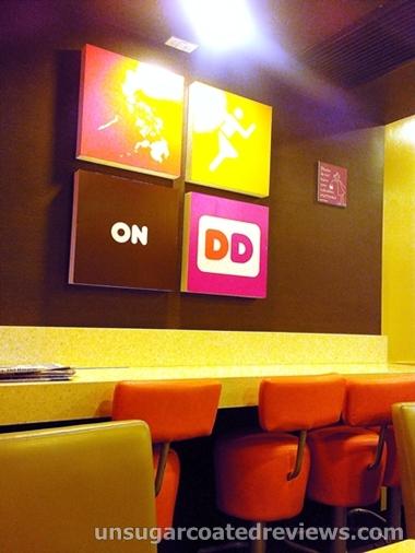 Dunkin Donuts stools