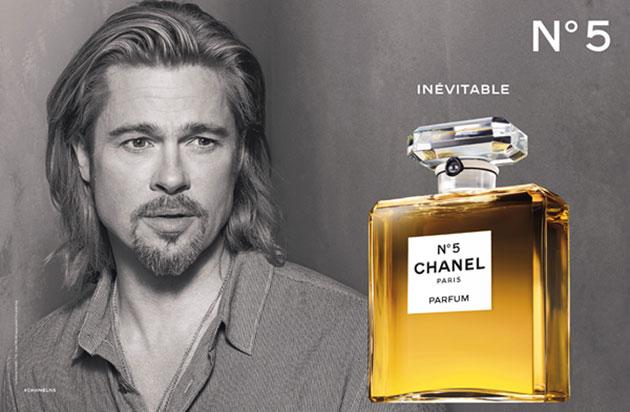 Chanel n. 5 2012 brad pitt video adv spot pubblicità evento terrazza martini profumo fragranza eau de parfum