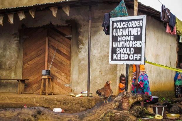 Dua Maut Rusuhan Ebola