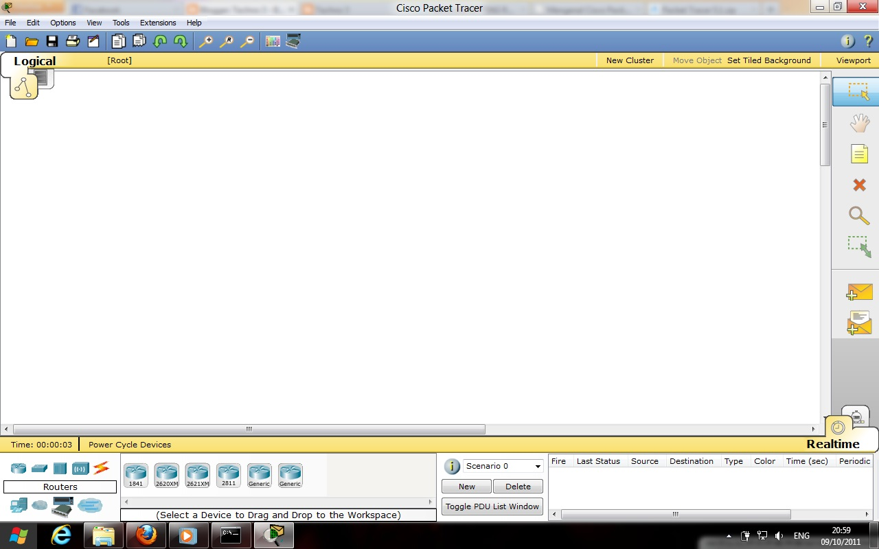 Cisco 2 packet tracer 10 0 1 2 Putting It All together