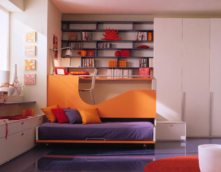 space for unwinding studying and sleep simple and stylish