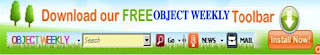 OBJECT WEEKLY TOOLBAR
