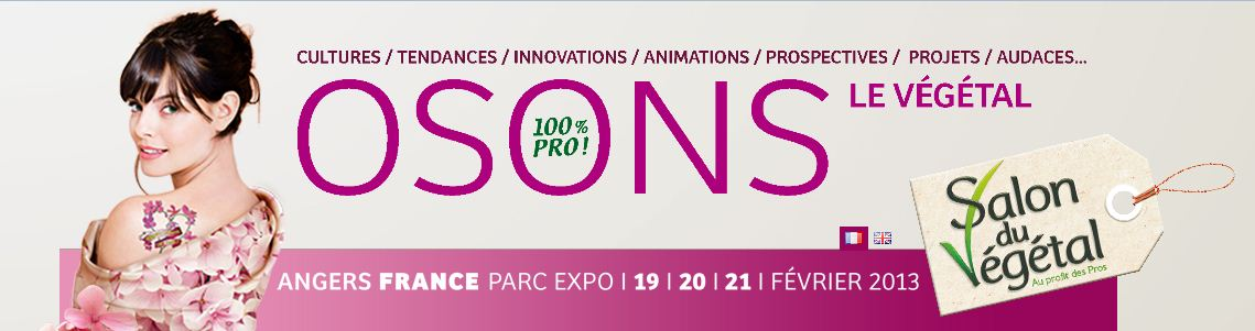 Tribune verte innovations et tendances osons le for Salon vegetal lyon