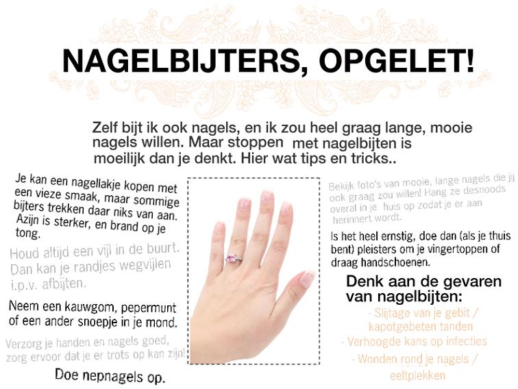 VINTAGENOTE TIPS   Nagelbijters Opgelet!