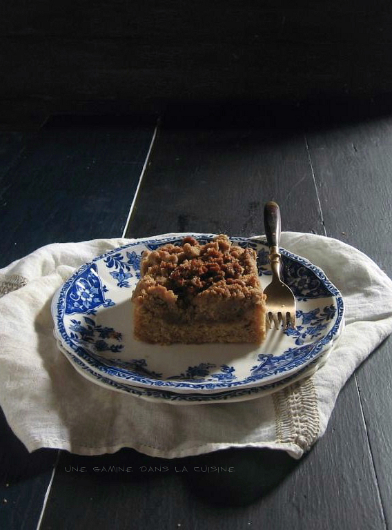 cinnamon orange crumb cake / une gamine dans la cuisine