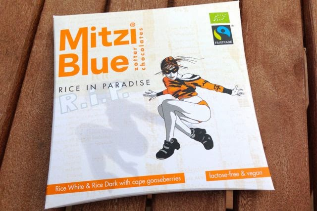 Zotter - Mitzi Blue 'Rice in Paradise' - Dairy Free Vegan White Chocolate