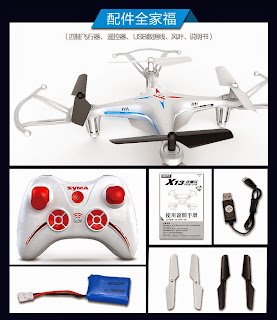 Syma X13 Quadcopter Box