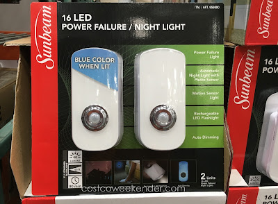 Sunbeam 16 LED Power Failure / Night Light: great for emergencies