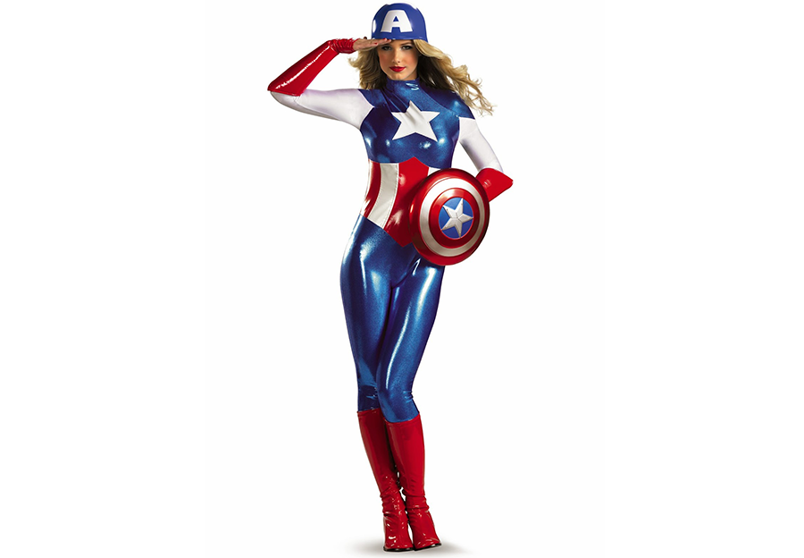 American Shopping, Woman Hero, Super-hero