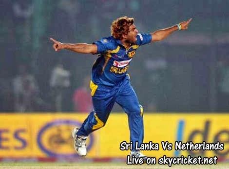 Sri Lanka Vs Netherlands, Malinga bowling