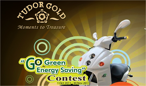 Tudor Gold 'Go Green Energy Saving' Contest