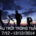 Bầu trời trong tuần từ 7/12 tới 13/12/2014