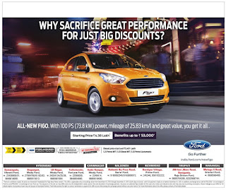 All New Ford Figo Offer with benefits up to Rs 53000 | December offers on new ford figo