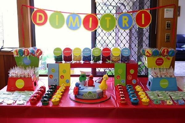 decoracao alternativa para festa infantil : decoracao alternativa para festa infantil:Bolshaia: Decoração de festa infantil sem tema específico