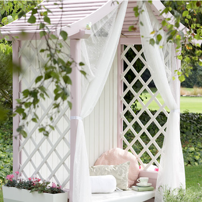 Country garden arbour by Ideal Home