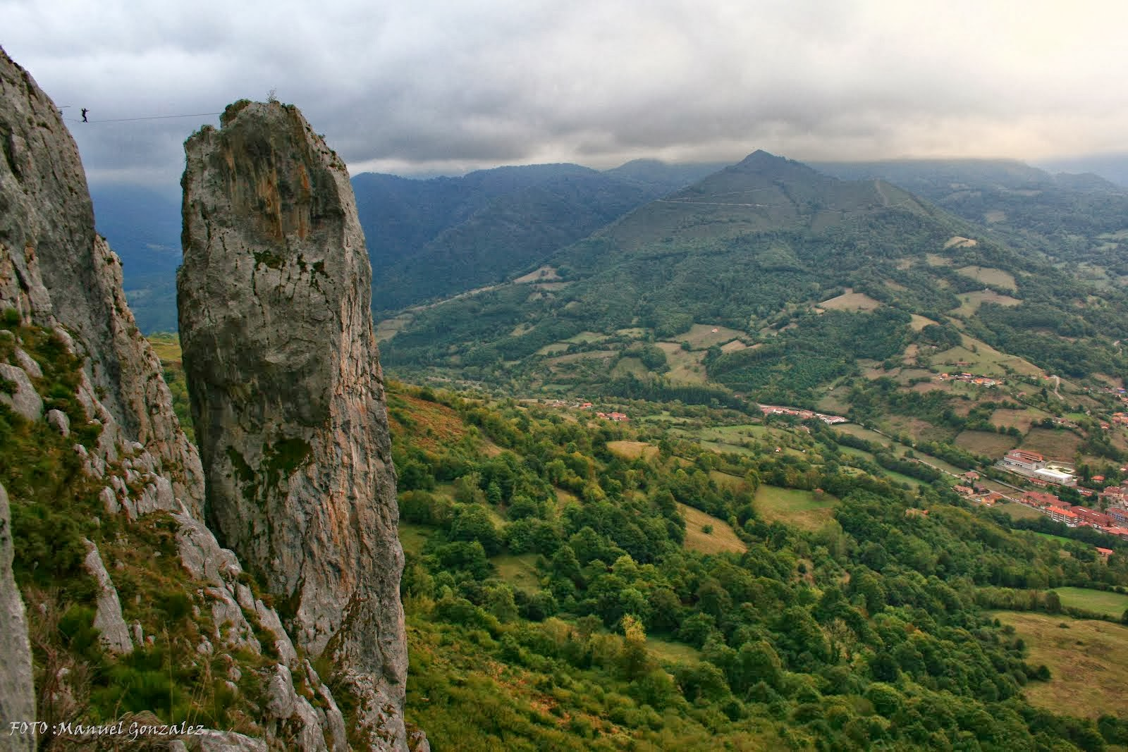 Aguja de sobia,teverga,asturias