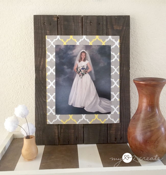 Pallet and Scrap Wood DIY Picture Frames, MyLove2Create