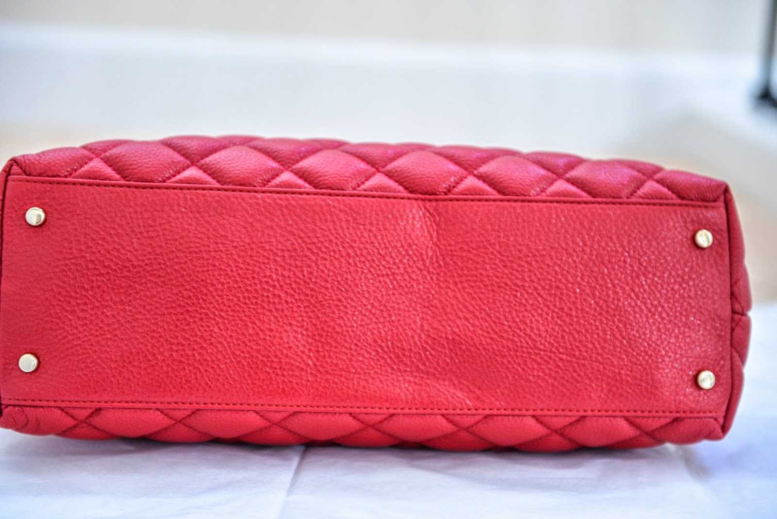 Paylessdesignerbags Katespade Small Rachelle Astor Court Navy Authentic Color Red