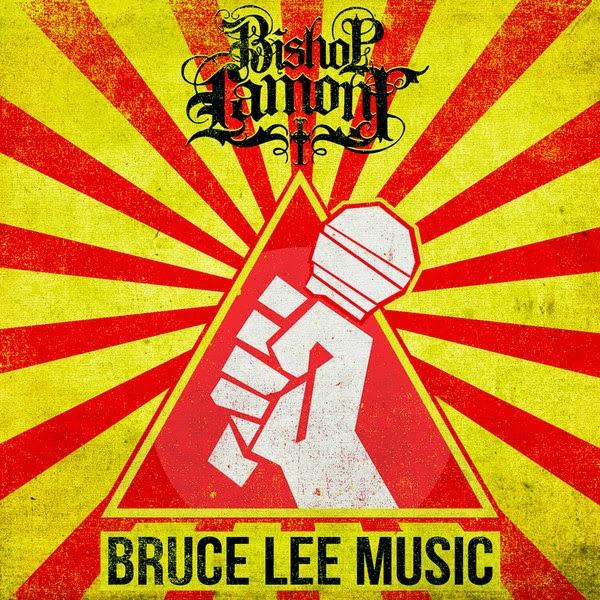 Bishop Lamont - Bruce Lee Music (feat. DJ Revolution) - Single Cover