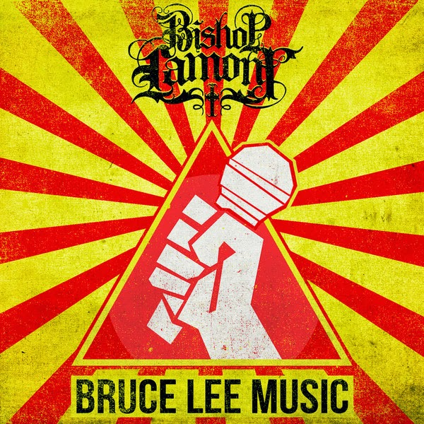 Bishop Lamont - Bruce Lee Music (feat. DJ Revolution) - Single Cover