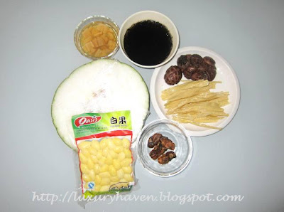 cny reunion dinner winter melon treasures recipes