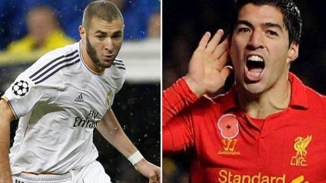 ماذا قال بنزيمة عن منافسة سواريز له في ريال مدريد