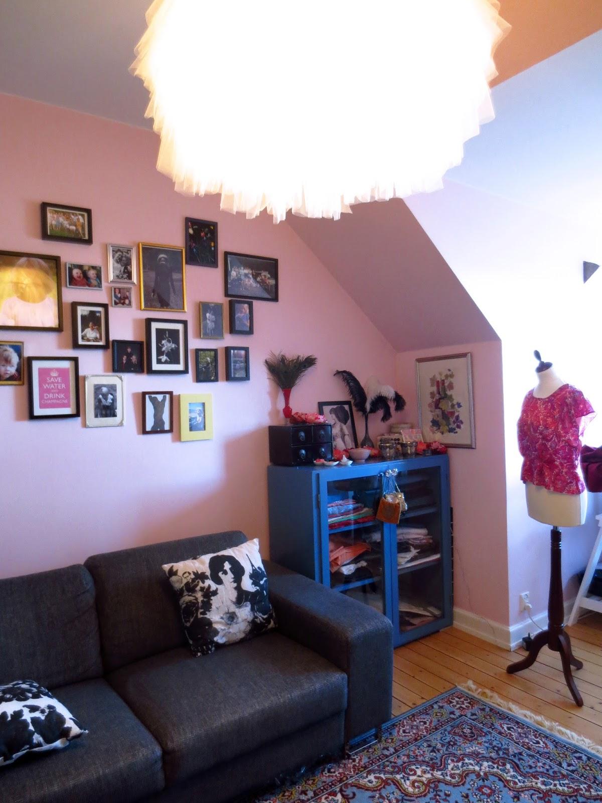 Vardagsrum lägenheten 2014