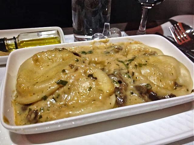Raviolis de hongos catering business Iberia. Blog Esteban Capdevila