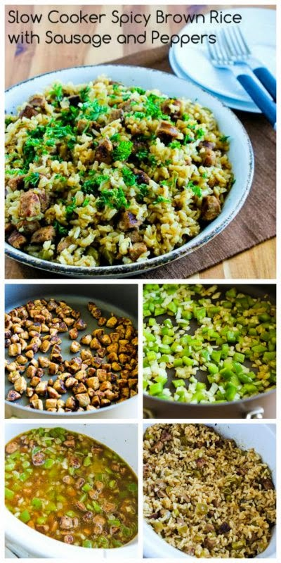 CrockPot Rice With Dried Mushrooms, Herbs, And Parmesan Recipe ...
