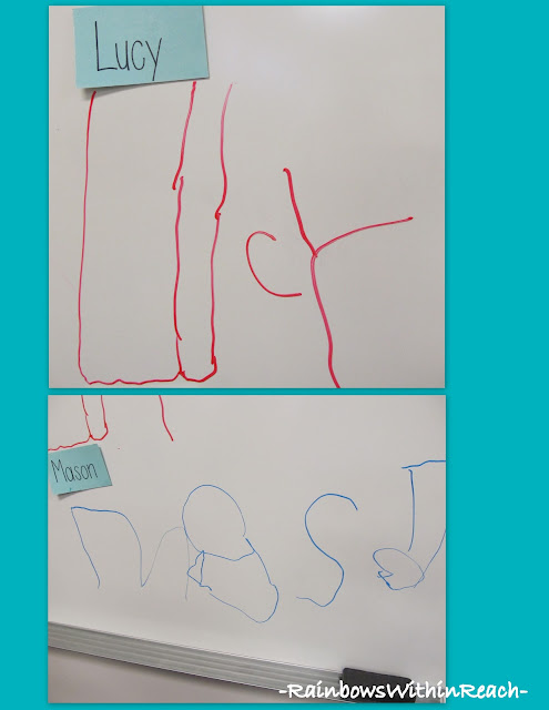 photo of: Handwriting development in Preschool