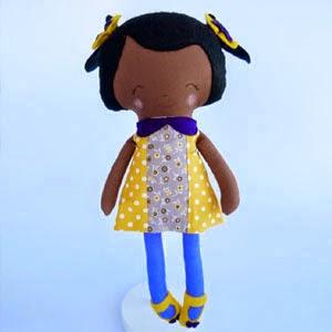 Buy Handmade | Christmas Gift Guide For Children - Pretty Girl Plush Doll