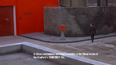Fahrenheit 451 - still from the movie