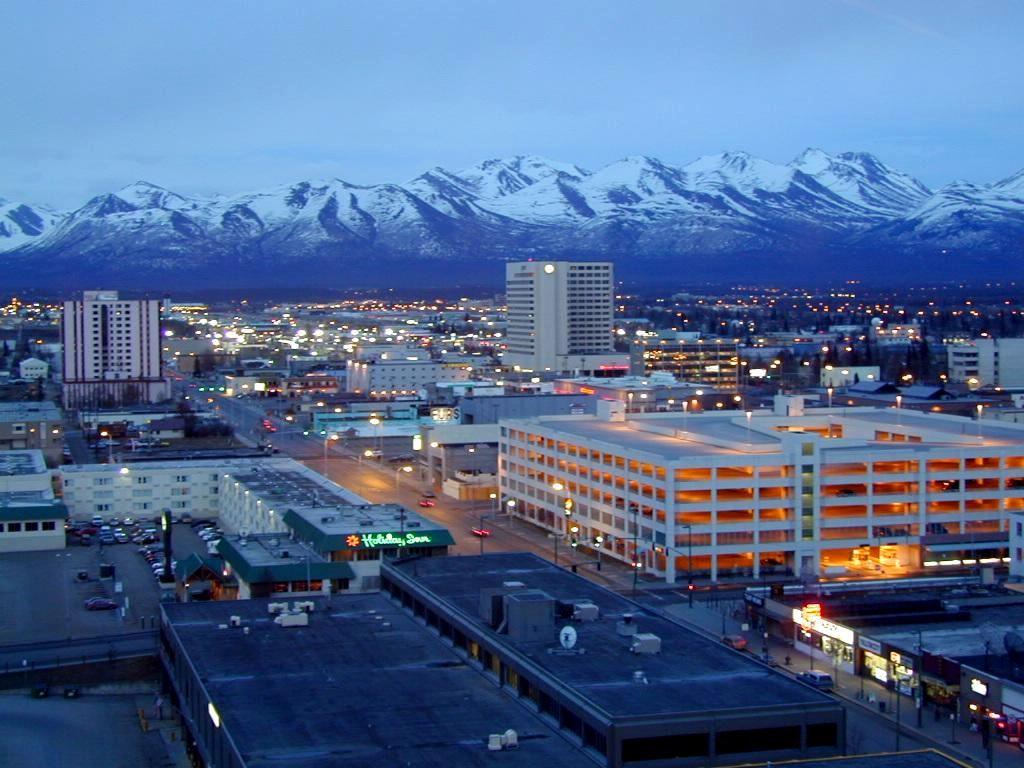 Anchorage Alaska skyline   All World Visits: http://vists-world.blogspot.com/2012/07/anchorage-alaska-skyline.html