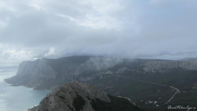 Ласпинский перевал. Вершина Ильяс-Кая