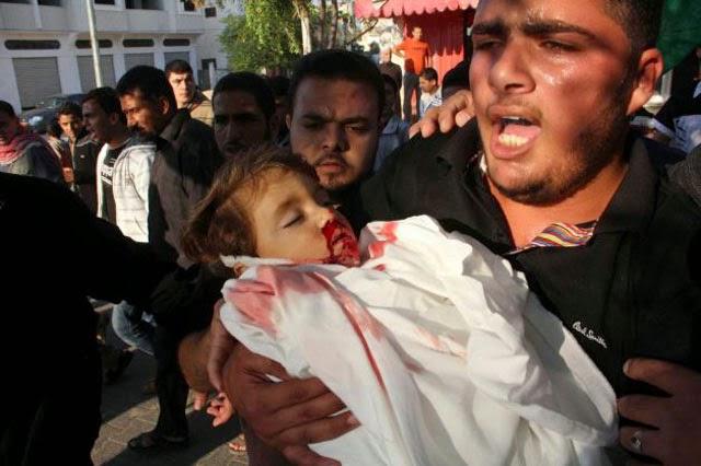 Israel Bom Bardir, Palestina Berdarah