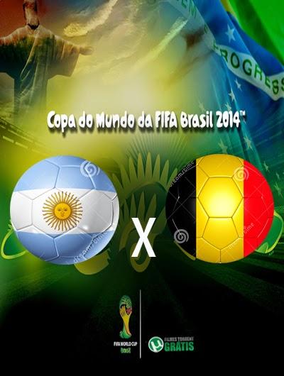 Argentina x Belgica Quartas de Final Copa do Mundo 2014